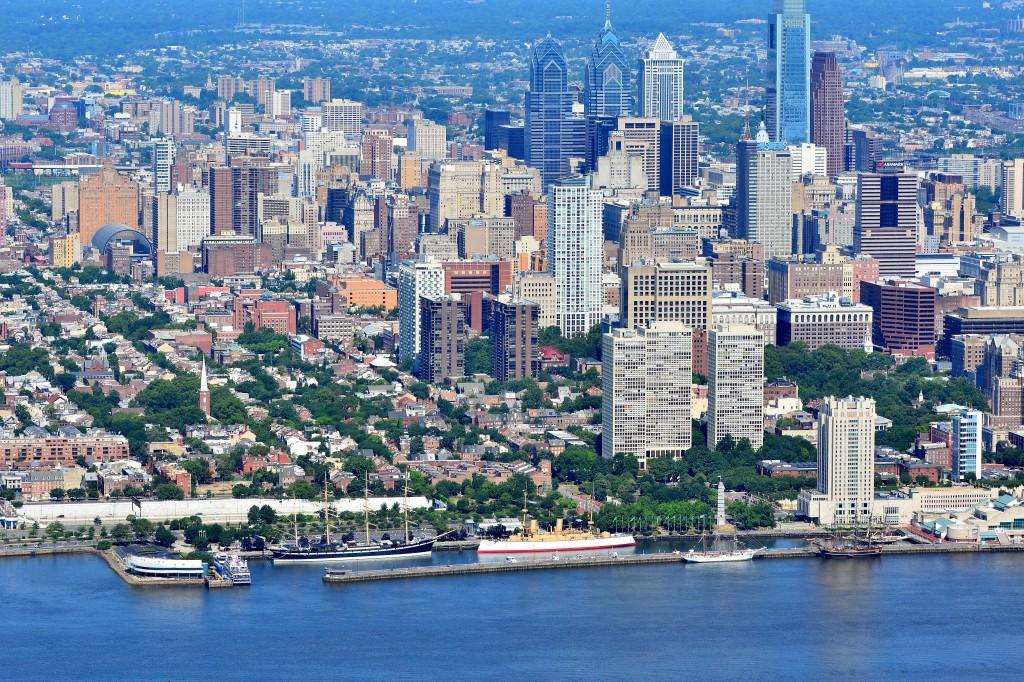 Penn's Landing_Philadelphia_NEPA Aerial Photography