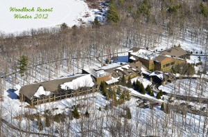 Winter Land Survey Aerial Photography
