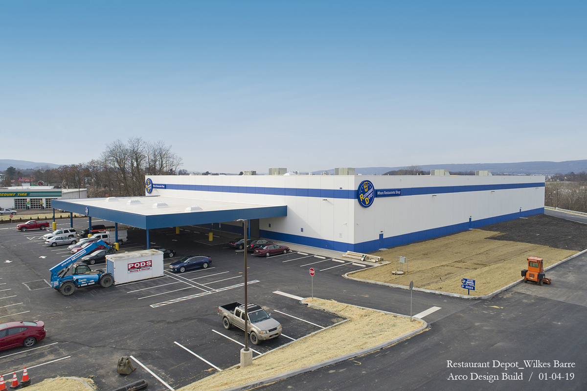 Client Review NEPA Aerial Photography Construction Progress